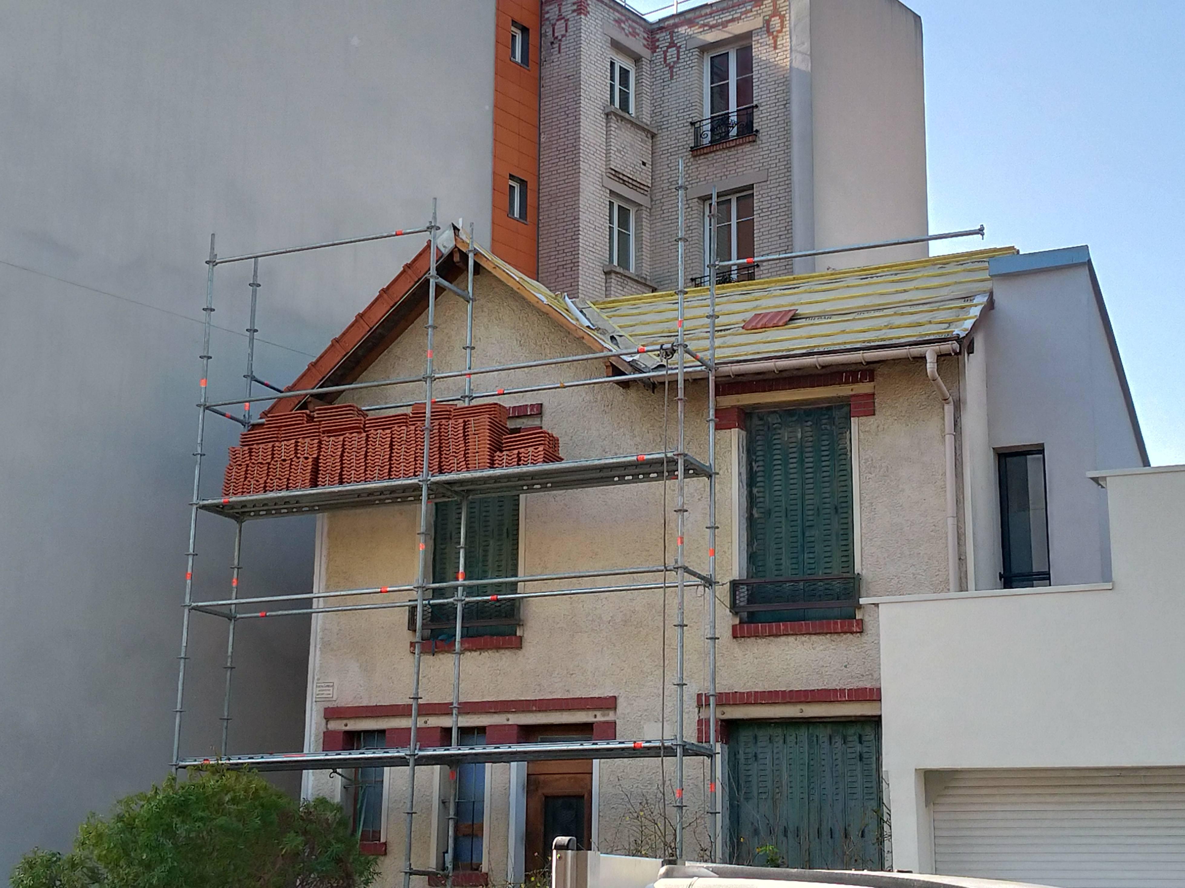 Rénovation dépannage toiture tuile
