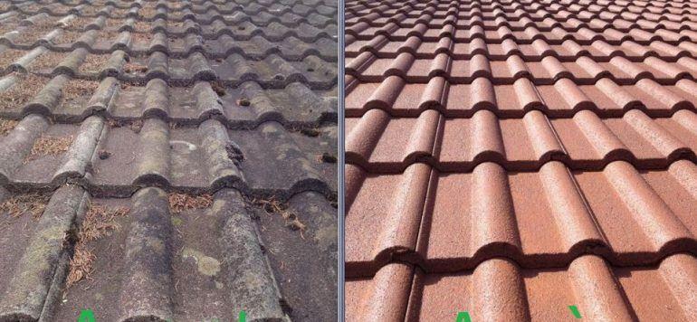 comparatif toiture avant apres